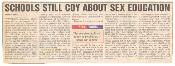 #Sex #Education should start as early as possible and it should start in home too!