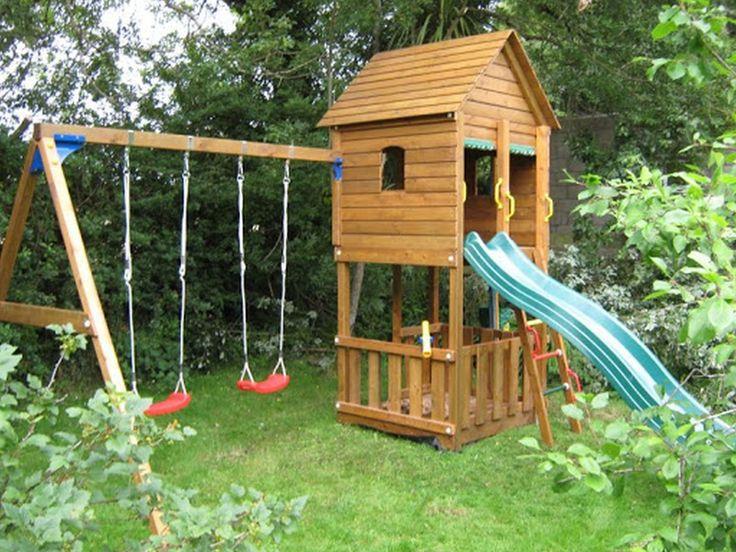 112 best Backyard Play Area images on Pinterest Backyard ideas - home playground ideas