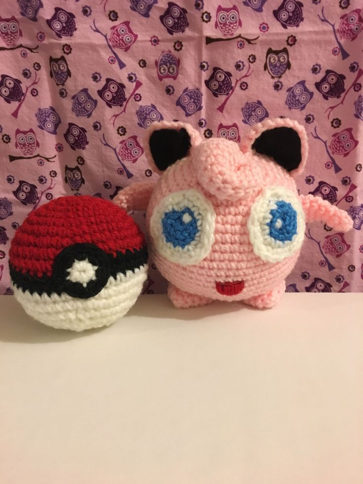 A personal favorite from my Etsy shop https://www.etsy.com/listing/469628818/jiggly-puff-pokemon-crochet