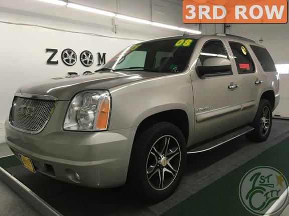 2008 GMC Yukon Denali for sale at First City Cars and Trucks in Rochester, NH