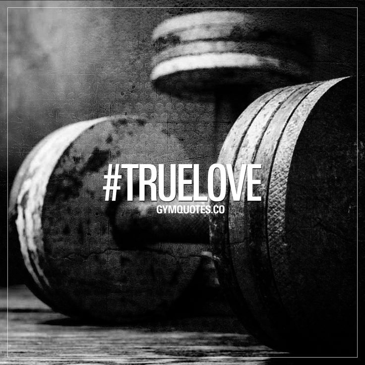 #truelove – that one true love. The gym. – Fitness