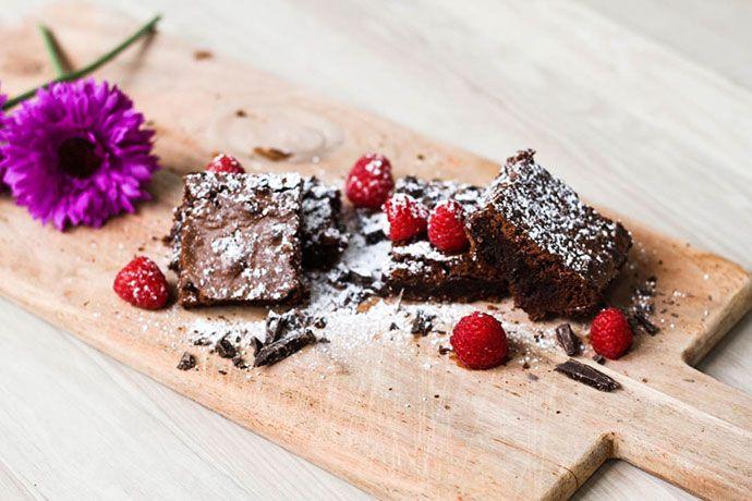 Lækker og nem brownie for hele familien