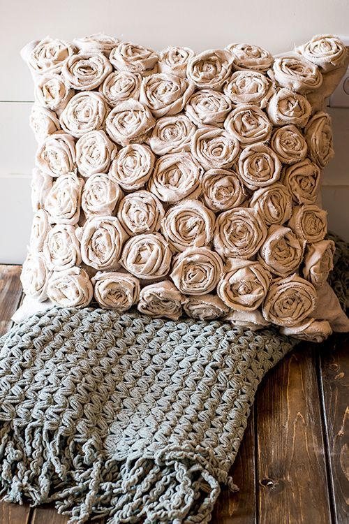 A Textured Pillow Can Be An Inexpensive And Easy DIY Project In This How