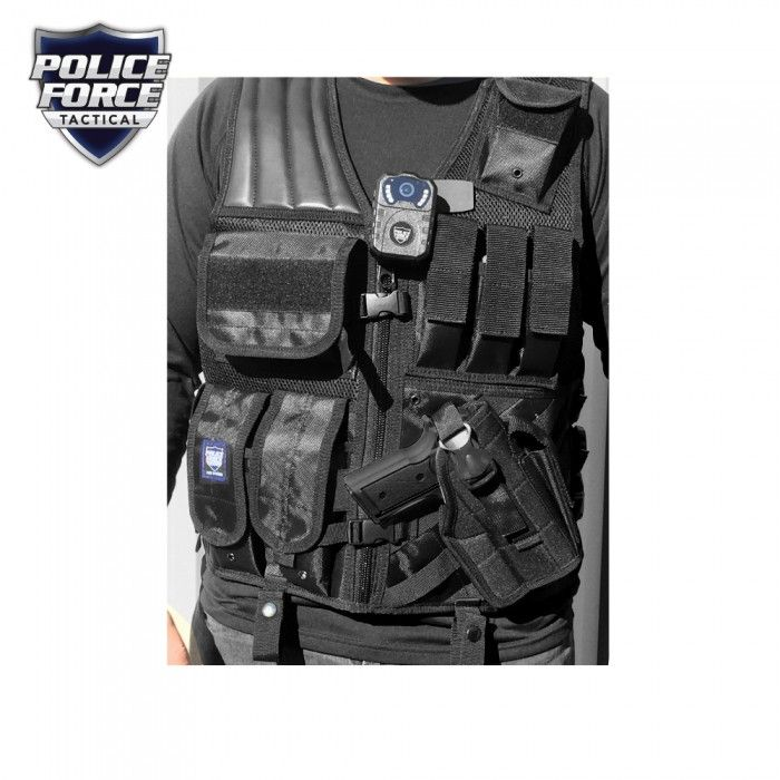 Police Force Tactical Vest