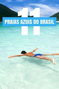 Não tem grana pra ir ao Caribe? Conheça 11 praias azuis do Brasil que são de tirar o fôlego e ficam bem pertinho de você!