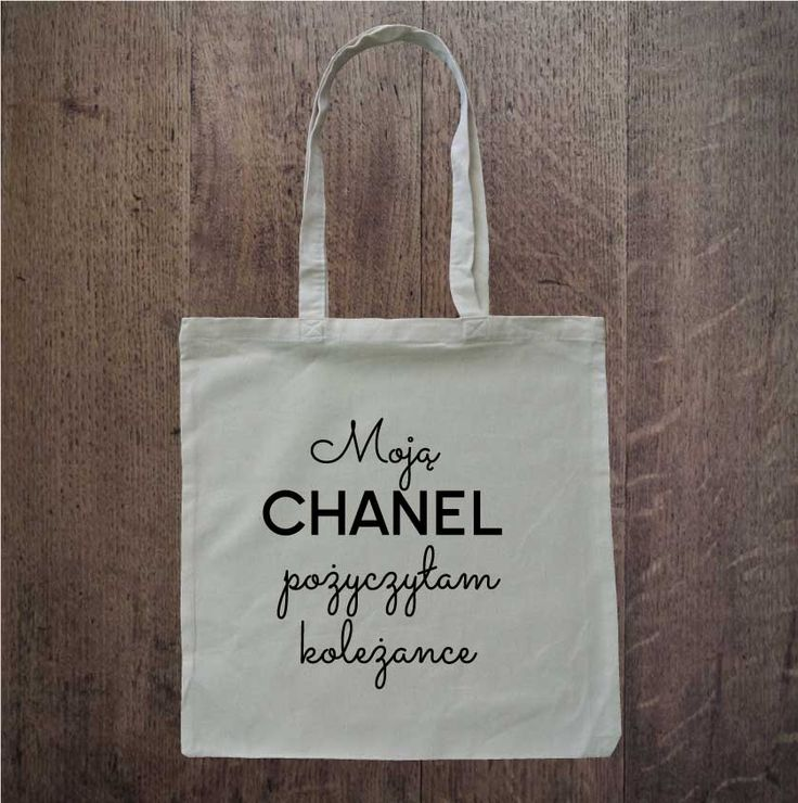 chanel bag; eko torba; eco bag; idealna na zakupy