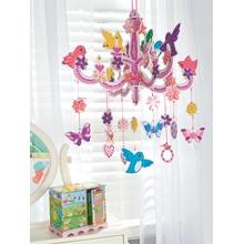 Sticky Mosaics chandelier