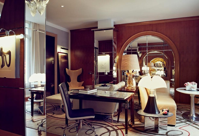 SPOTTED: Lou Reed chair by Driade. Le Royal Monceau—Raffles Paris. Available to purchase at discover-deliver.com