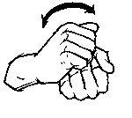 """""""wash"""" American Sign Language (ASL)"""