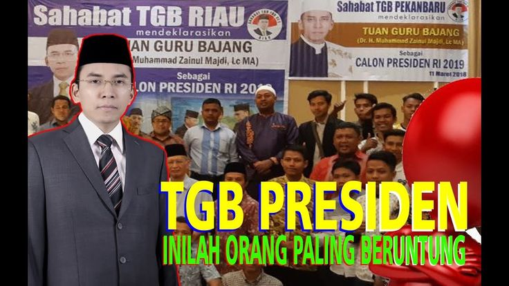 P!LU !!! Deklarasi TGB Capres 2019 Ingatkan Pidato Lantang Bung Tomo