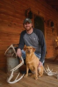 how to train a dog to find deer sheds