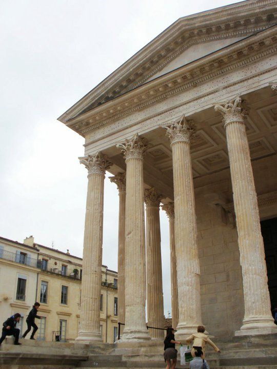 29 best images about nimes france trip on pinterest - Maison carree nimes ...