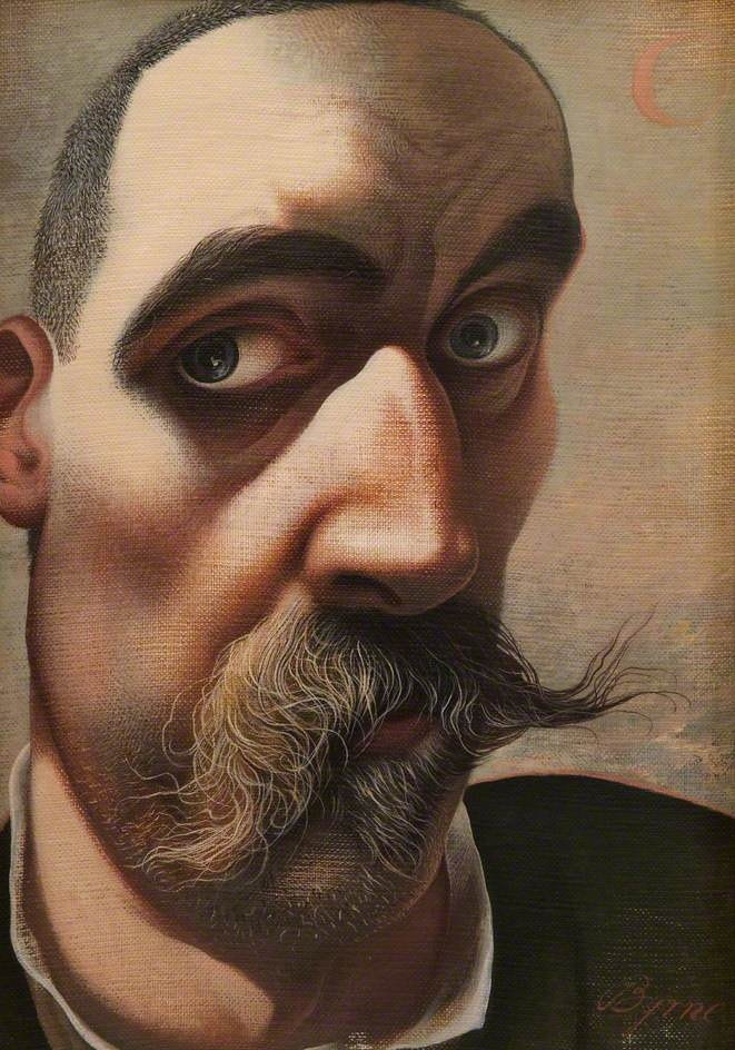 Self Portrait by John Byrne (City of Edinburgh Council) #movember