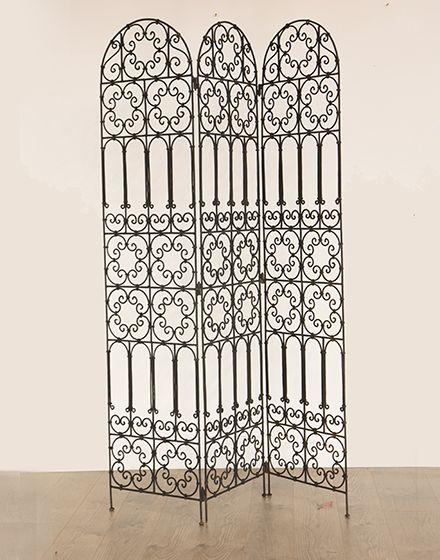 Moroccan Wrought Iron Screen