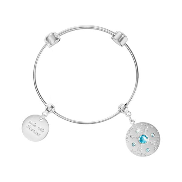 'Made with passion' bangle