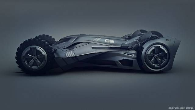 未来のバットマンが乗るかも?バットモービルのコンセプト・デザイン - グノシー