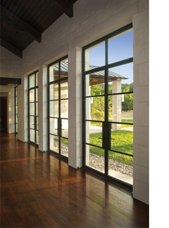 The perfect doors - Millennium by Durango doors.