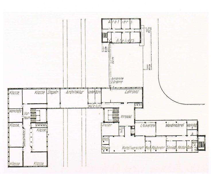 walter gropius bauhaus dessau 1925 26 architecture bauhaus history of architecture. Black Bedroom Furniture Sets. Home Design Ideas