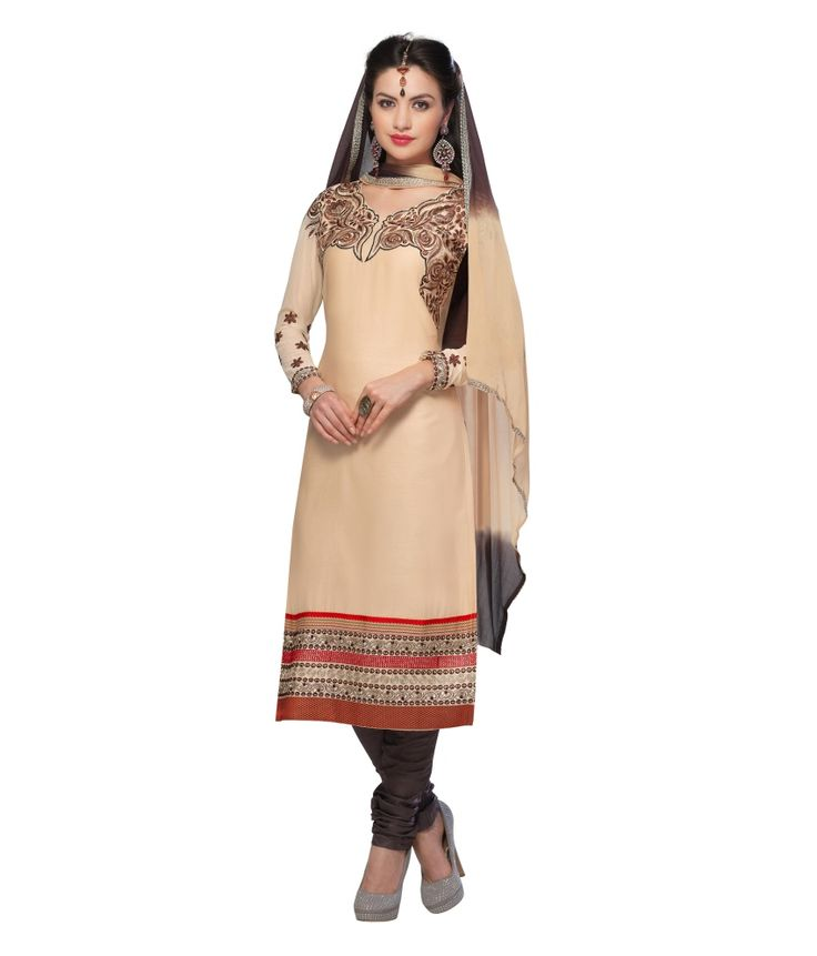 Loved it: Monalisa Fabrics Beige Cotton Unstitched Dress Material, http://www.snapdeal.com/product/monalisa-fabrics-beige-cotton-embroidered/634330525586