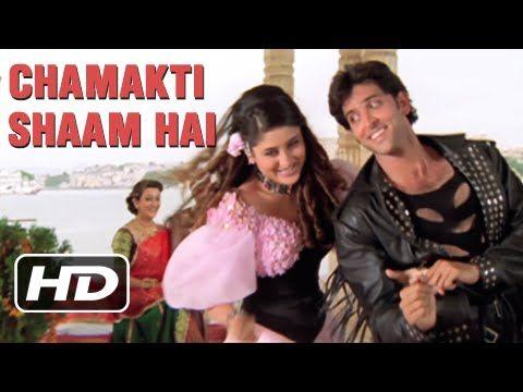 Chamakti Shaam Hai - Hrithik Roshan, Kareena Kapoor, Kiran Rathod - Yaadein - YouTube