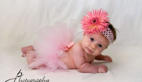 Sweet baby tutu picture
