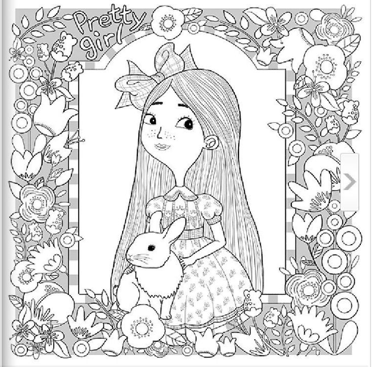 korean coloring book for adults 344 best bunny rabbit coloring images on pinterest