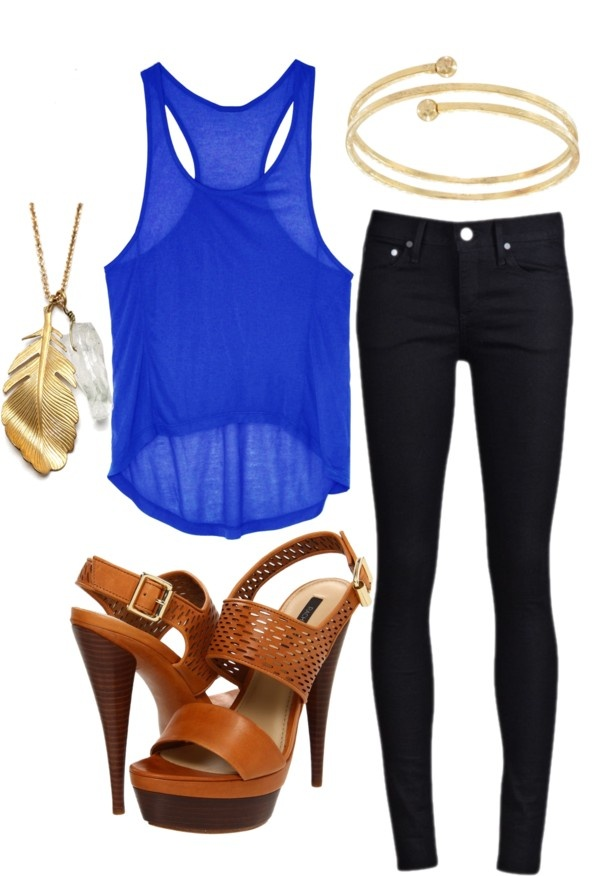 """""""Summer Night Out"""" by smieth on Polyvore"""
