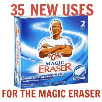 35 new uses for the Magic Eraser