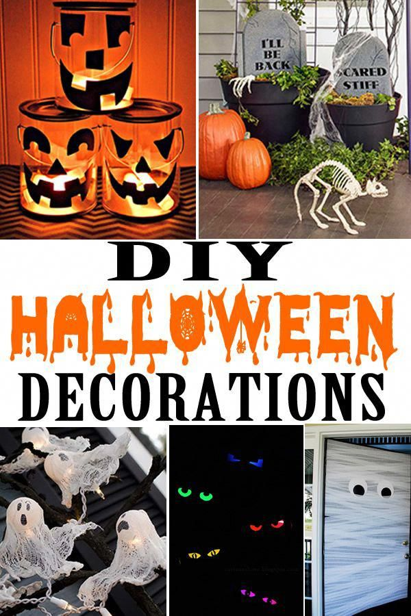 Halloween decorations! The best DIY Halloween decorations for