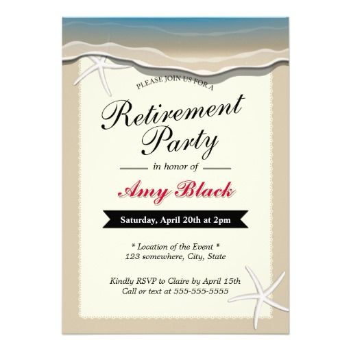 40 best images about retirement party invites on pinterest, Party invitations