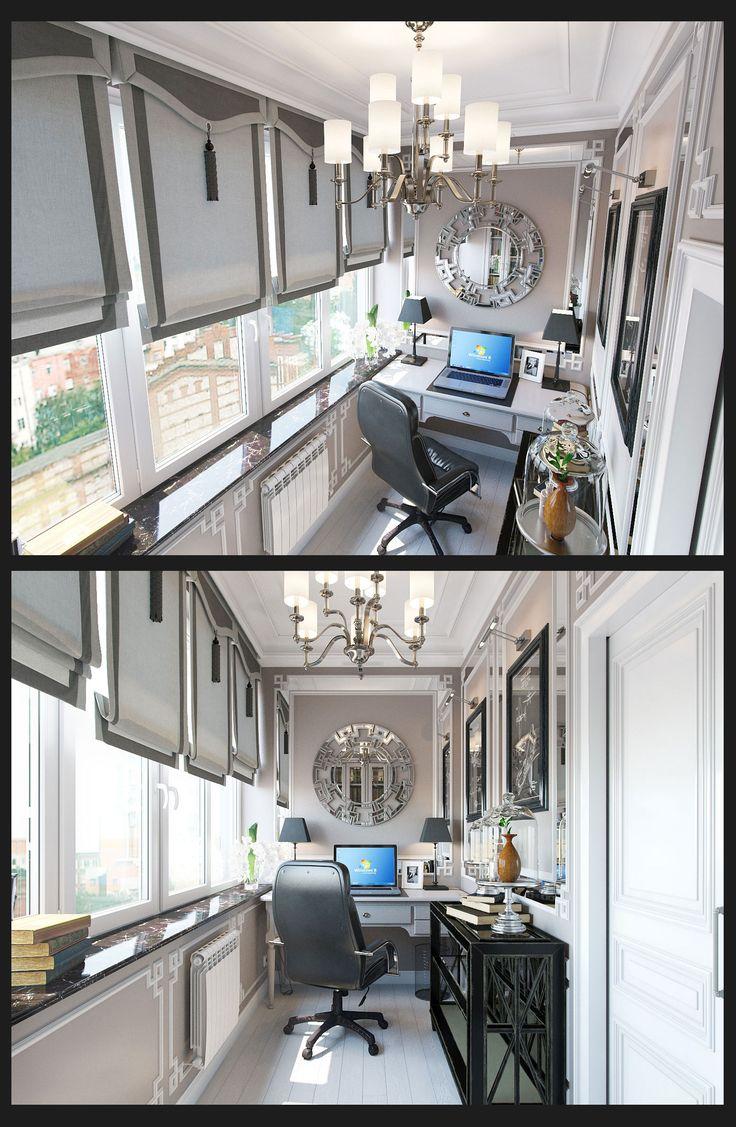 Небольшой кабинет - Галерея 3ddd.ru