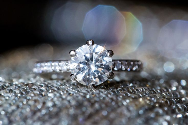 Engagement Ring | See the wedding on #SMP: www.stylemepretty... Ann & Kam Photog...