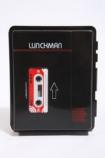 Loving this lunch box from Urban Outfitters.€8, It gives a punkish twist to an otherwise boring black lunch box!