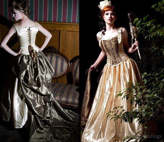 Steampunk Wedding Gowns: 17 Best Images About Women's Modern Fashion Inspired By