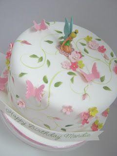 Let Them Eat Cakes: Tinkerbell Birthday Cake