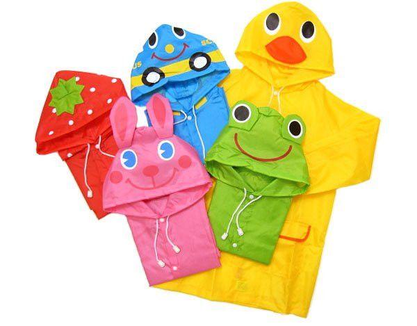 Kids Rain Coat children Raincoat Rainwear/Rainsuit,Kids Waterproof Animal Raincoat 10pcs/lot