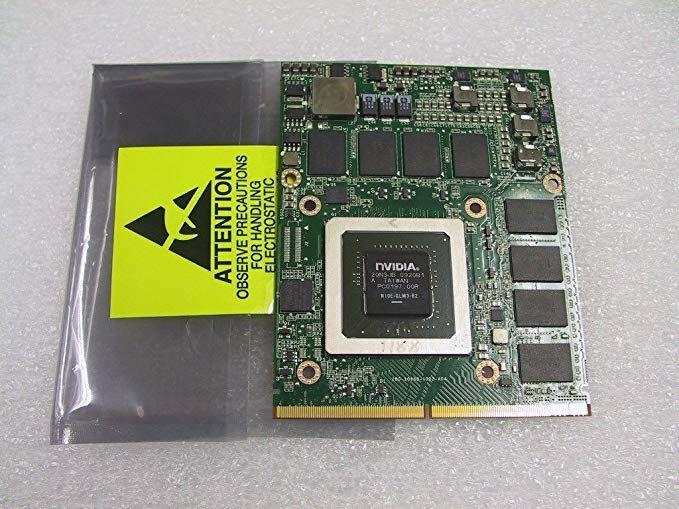 nVidia Quadro FX 3800M N10E-GLM3-B2 1GB MXM B 3 0 VGA Card