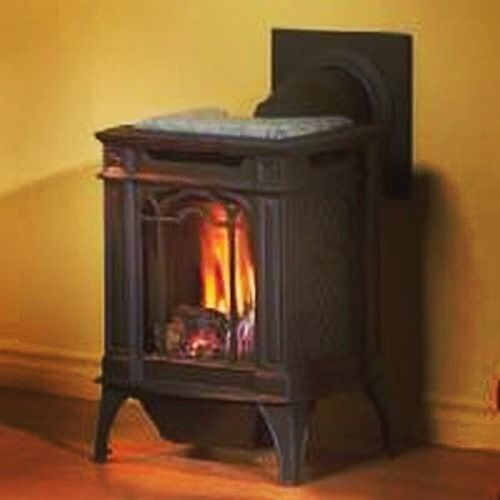 Get the look and feel of a real wood stove without the cleanup! The Arlington stove (NAP-2479408) by Napoleon is gas powered for convenience and efficiency. Visit ShopChimney.com for more innovative products from Napoleon! #fireplaces #cold #snow #winter #happynewyear #nye #newyearseve #xmas #christmas #merrychristmas #vintage #rustic #quirky #diy #homedecor #interiordesign