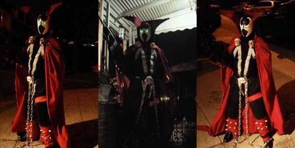 Picture of SPAWN costume hand made