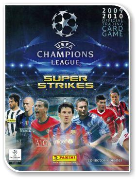 Super Strikes UEFA Champions League 2009-2010
