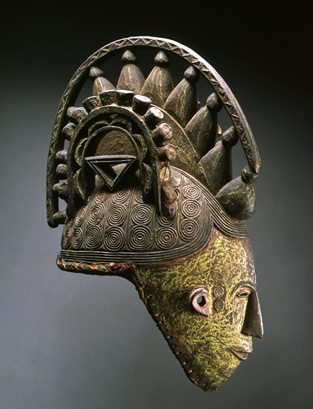 Maiden Spirit (Agbogho Mmuo) Helmet Mask: Nigeria, Lgbo, North. Late 19th- early 20th centuriesMaiden Spirit, Early 20Th, Late 19Th, Helmets Masks, 19Th Early, Spirit Agbogho, 20Th Century, Agbogho Mmuo, Masks Nigeria