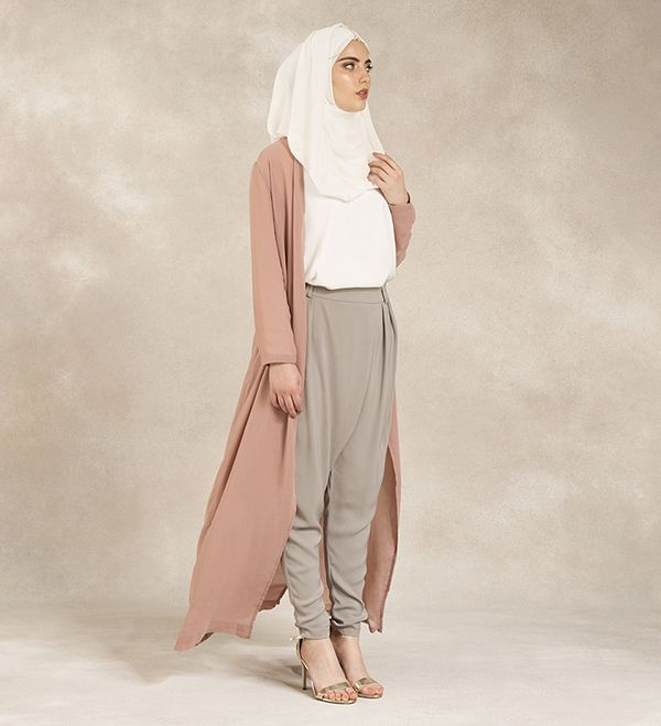Dusty Rose Maxi Oversized Kimono - £44.99 : Inayah, Islamic Clothing & Fashion, Abayas, Jilbabs, Hijabs, Jalabiyas & Hijab Pins