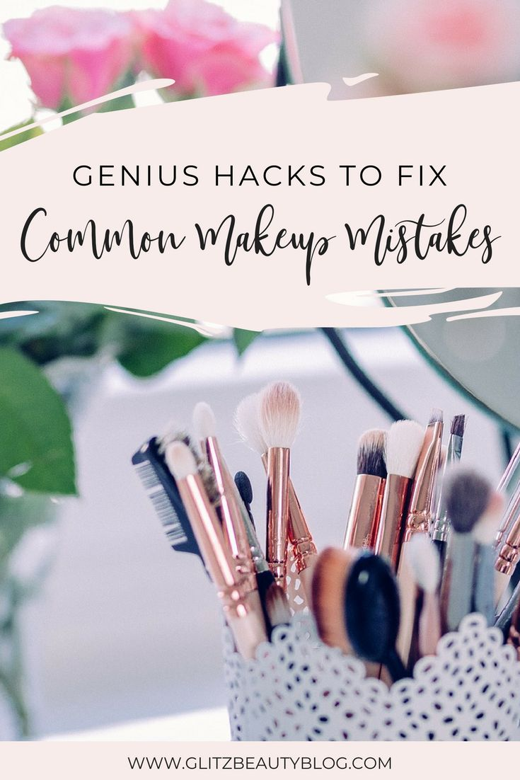 How To Fix Common Makeup Mistakes
