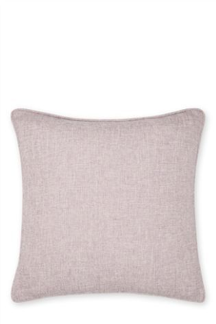 Light Mauve Small Delicate Weave Cushion