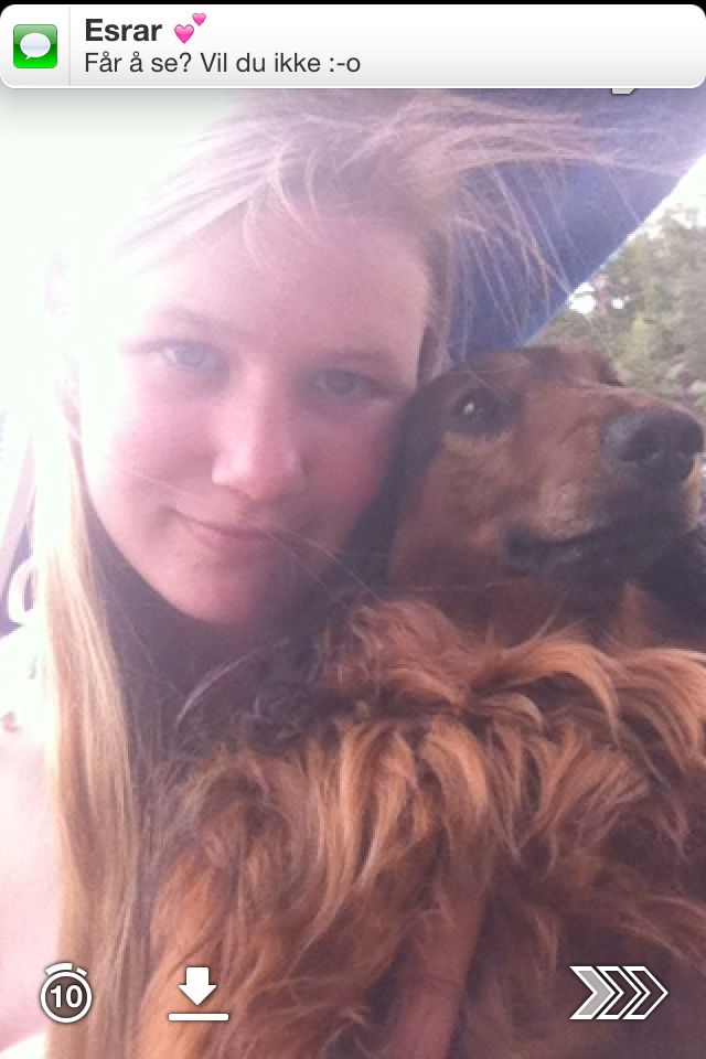 Me and my dog Emil
