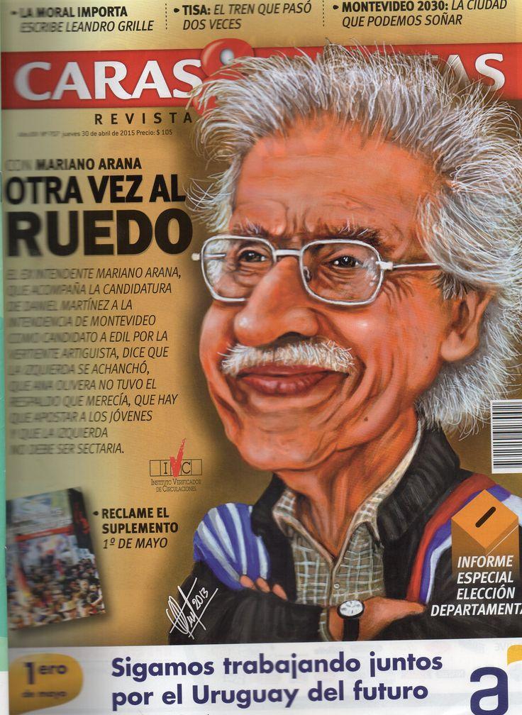 Caricatura de tapa. Arq. Mariano Arana