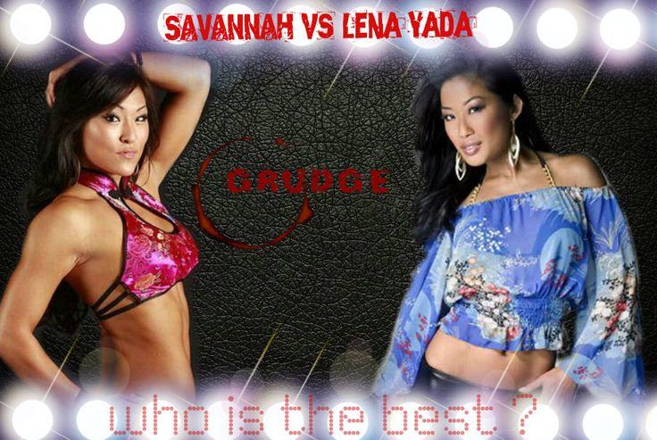 Savannah vs Lena Yada on Grudge