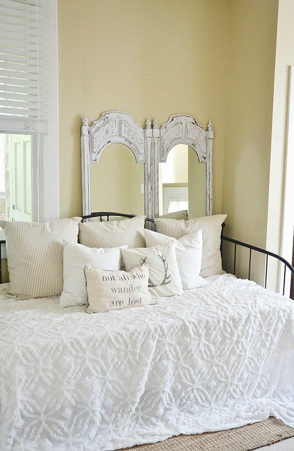 Painted Mirrors- LMB Rental Daybed Room -