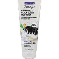 Charcoal & Black Sugar Mud Masker - Gezichtmaskers - Gezichtsverzorging   De Tuinen