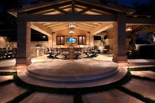 Outdoor livingroom